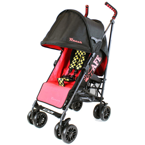 iSafe buggy Stroller Pushchair - Racer (Complete & Rain cover)