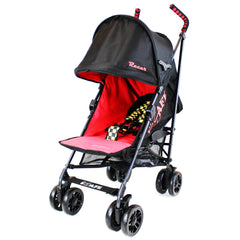iSafe  - Racer Stroller Buggy Pushchair Complete With Foot Muff And Head Huger - Baby Travel UK  - 5