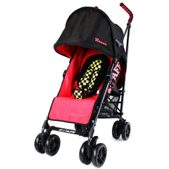 iSafe buggy Stroller Pushchair - Racer (Complete With Bumper Bar & Rain cover) - Baby Travel UK  - 6