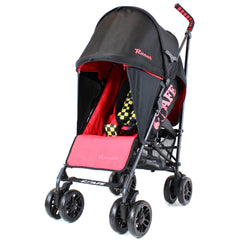 iSafe  - Racer Stroller Buggy Pushchair Complete With Foot Muff And Head Huger - Baby Travel UK  - 4
