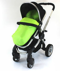 Cosy Toes With Pouches Stroller Liner For iCandy Peach Pear Apple Pram (lite) - Baby Travel UK  - 5
