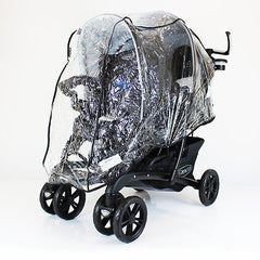 Raincover For Graco Quattro Tour Duo Tandem Double - Baby Travel UK  - 1