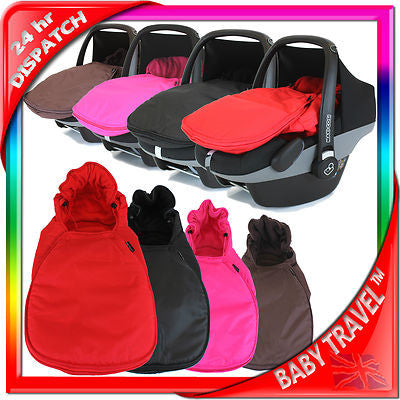 Universal Car Seat Footmuff/cosy Toes. Graco Newborn Car Seat