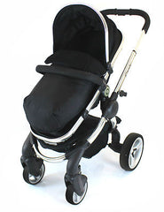 Pushchair Foot-muff Cosy Toes Fit Buggy's & Pushchairs (Lite) - Baby Travel UK  - 2