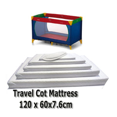 Baby Travel Mattress Spring Foam for Cot CotBed Swinging Crib Moses Basket - Baby Travel UK  - 10