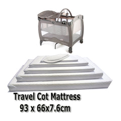 Baby Travel Mattress Spring Foam for Cot CotBed Swinging Crib Moses Basket - Baby Travel UK  - 8