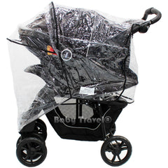 Travel System Raincover To Fit - Cosatto Fly Pram System (Heavy Duty, High Quality) - Baby Travel UK  - 3