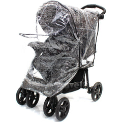 Travel System Raincover To Fit - Cosatto Fly Pram System (Heavy Duty, High Quality) - Baby Travel UK  - 4