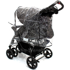 Travel System Raincover To Fit - Cosatto Fly Pram System (Heavy Duty, High Quality) - Baby Travel UK  - 5
