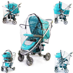 Travel System Raincover To Fit - Hauck Lacrosse (Heavy Duty, High Quality) - Baby Travel UK  - 6