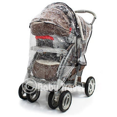 Travel System Raincover To Fit - Joie Litetrax (Heavy Duty, High Quality) - Baby Travel UK  - 2