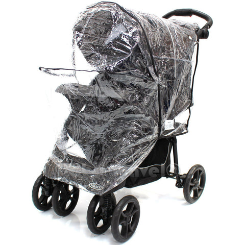 Travel System Raincover To Fit - Out n About Nipper Pram (Heavy Duty, High Quality)