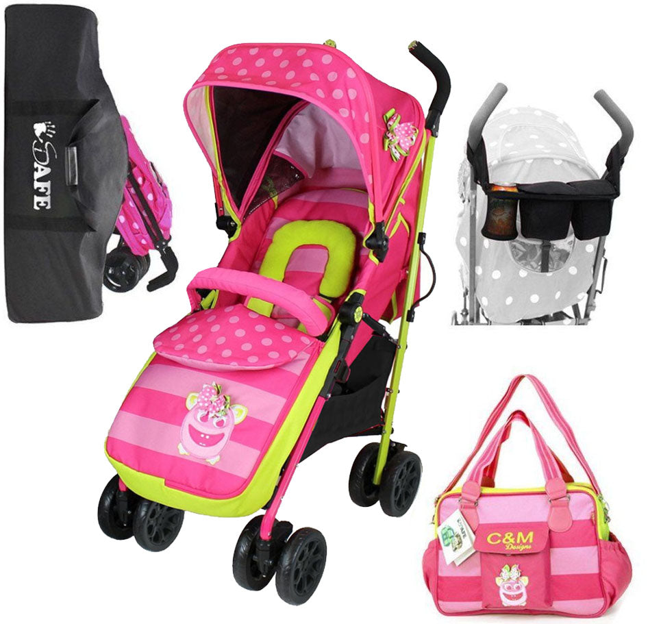 OPTIMUM Stroller Complete With Changing Bag iSafe Mea LUX
