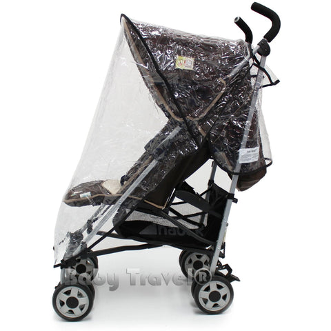 Rain Cover To fit Silver Cross Zest Stroller