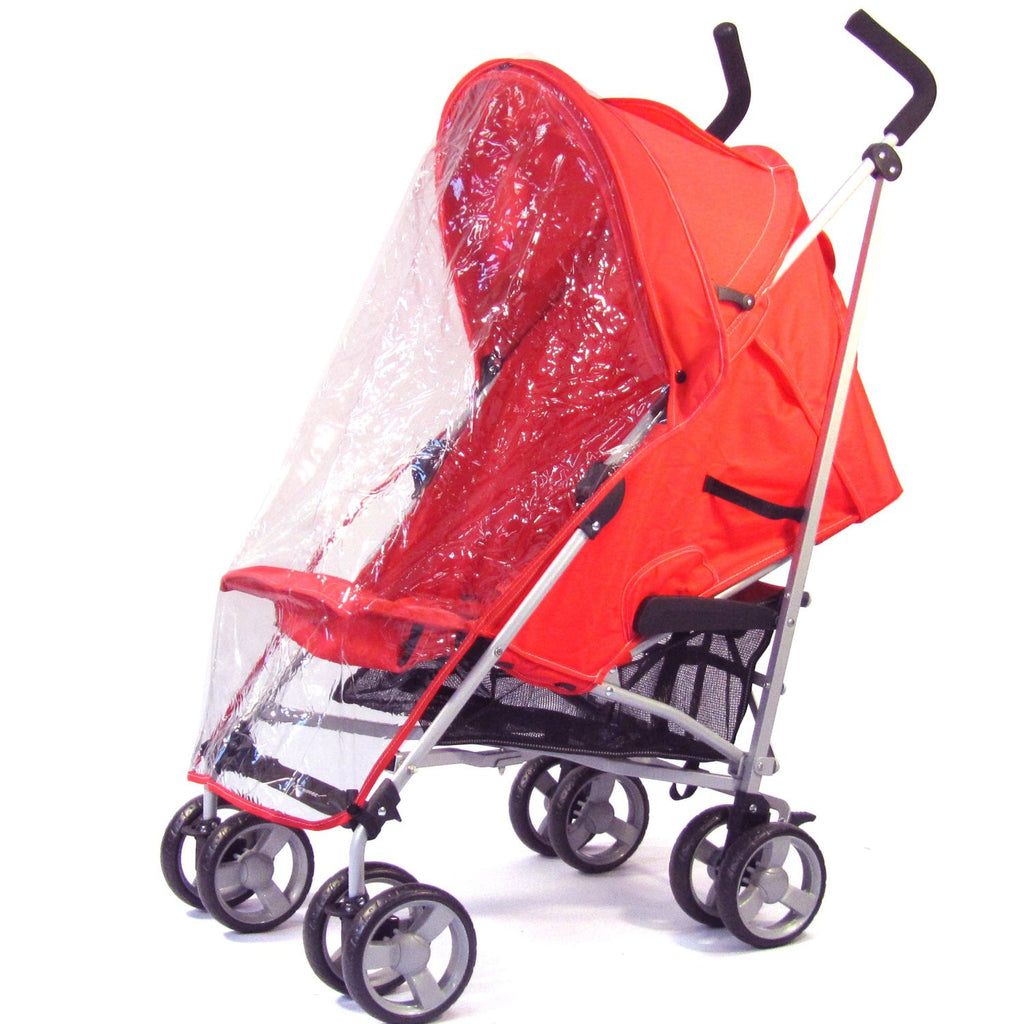 Raincover Throw Over For Baby Weavers Stroller Buggy Rain Cover - Baby Travel UK  - 1