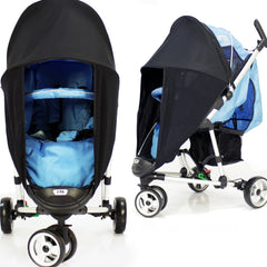 Sunny Sail Universal Pushchair Buggy Pram Stroller Shade Parasol Substitute - Baby Travel UK  - 3