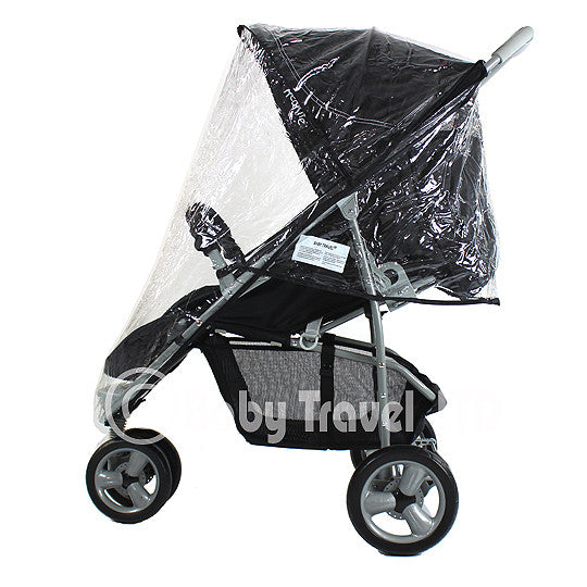 Rain Cover For Zeta Lite Stroller Raincover Zipped - Baby Travel UK  - 1