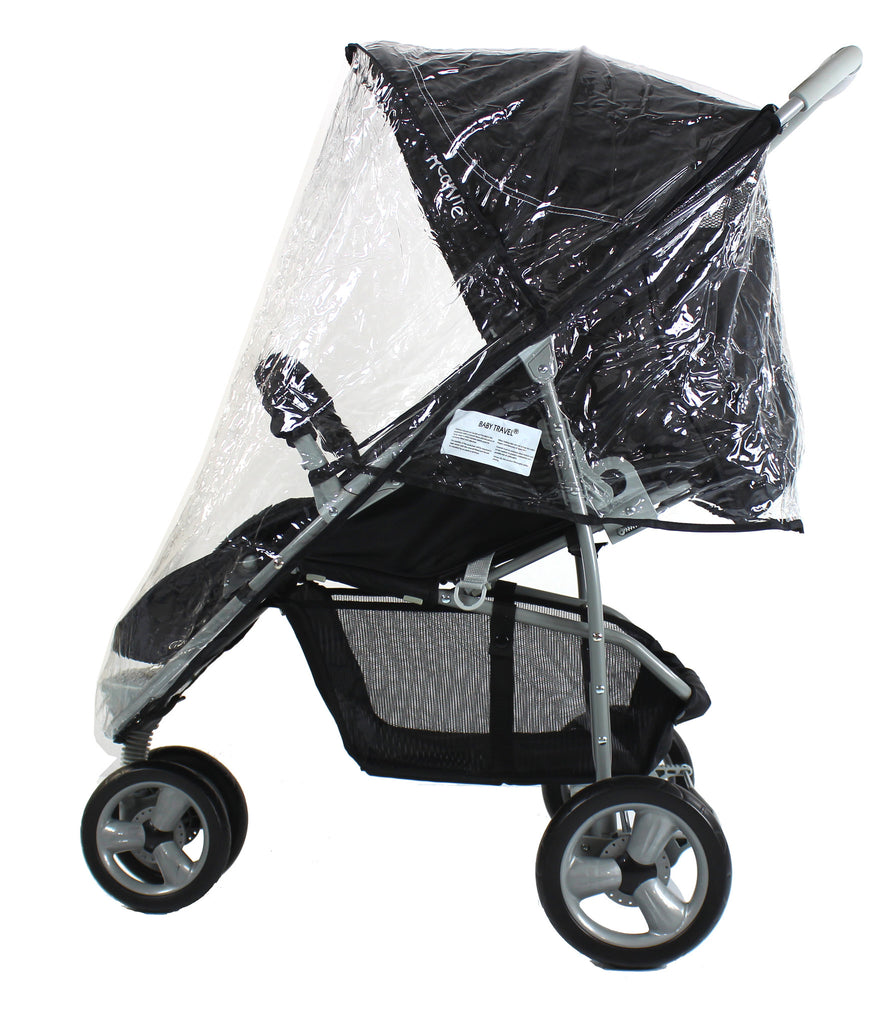 Rain Cover For Quinny Zapp Raincover Stroller Buggy Baby Travel High Quality - Baby Travel UK  - 1