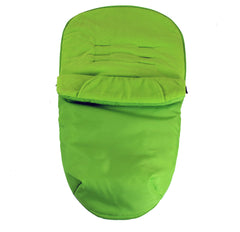 Luxury Fleece Lined Footmuff Lime Green Pouches For oBaby Zoma - Baby Travel UK  - 2
