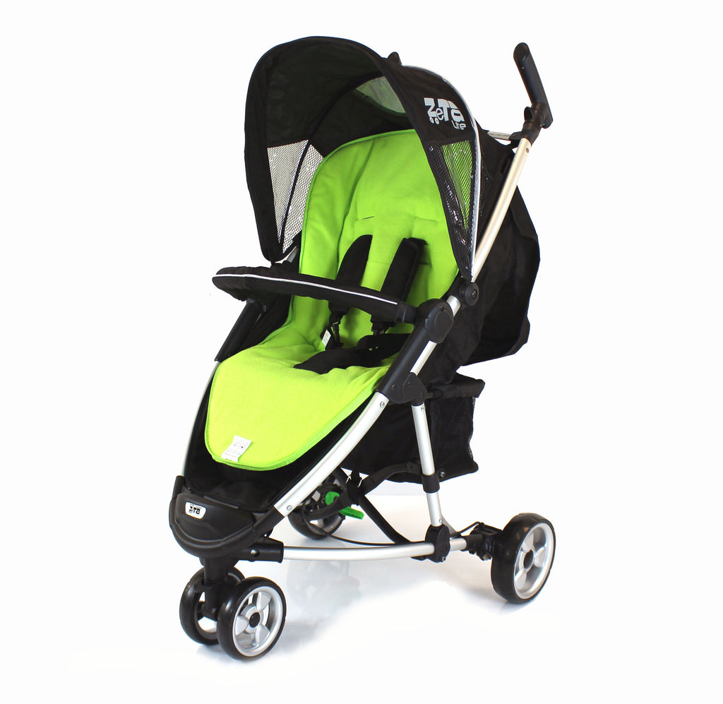 Deluxe 2 in 1  Footmuff Lime For iSafe Visual 3 - Baby Travel UK  - 3