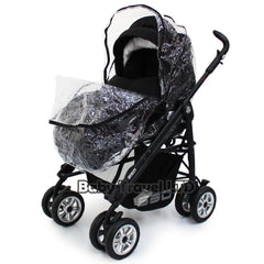 Rain Cover To Fit Jane Rider, Trider, Nurse Pram - Baby Travel UK  - 3