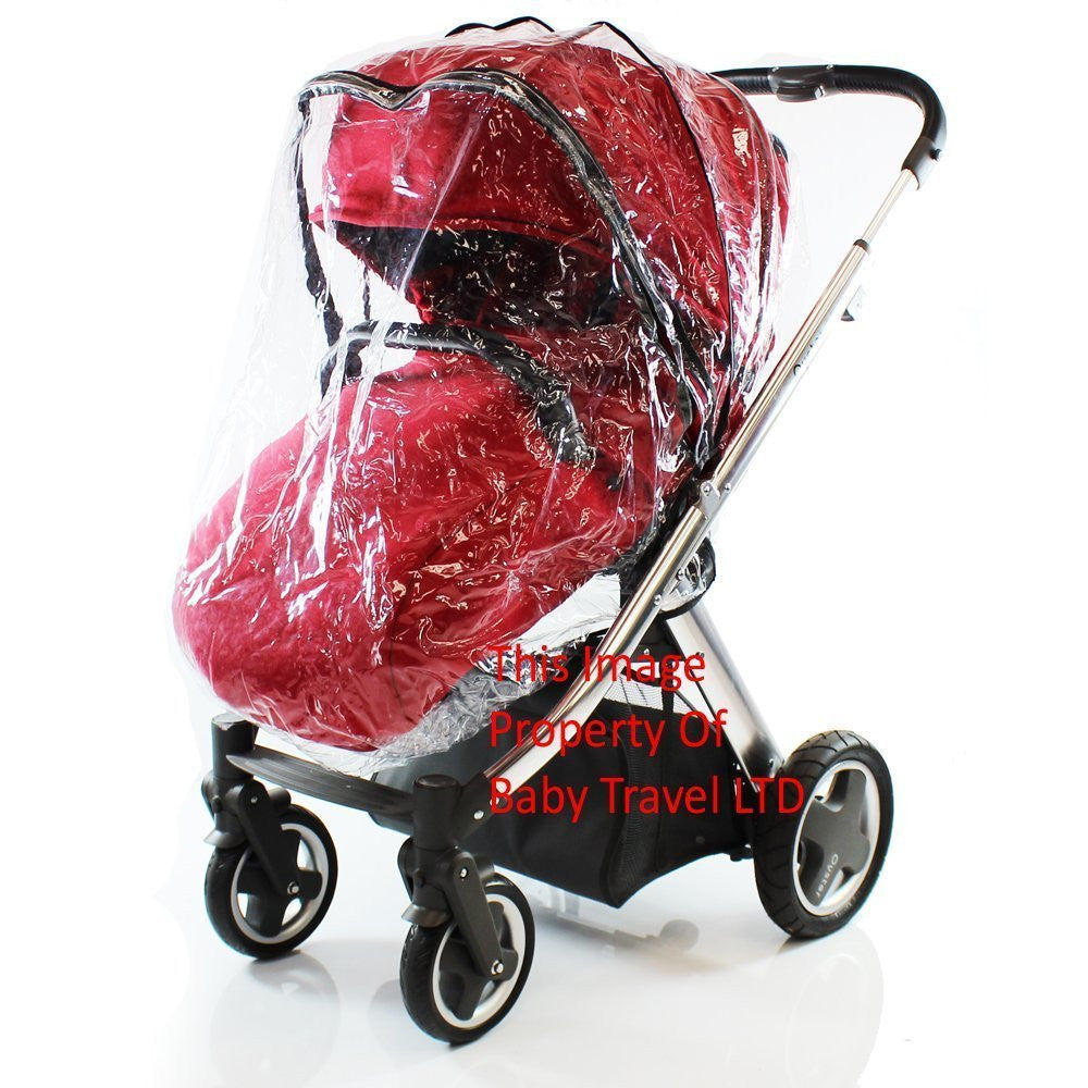 Rain Cover Fits iSafe Pram System Pushchair Stroller Raincover - Baby Travel UK  - 1