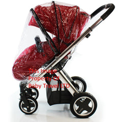 Rain Cover Fits iSafe Pram System Pushchair Stroller Raincover - Baby Travel UK  - 2