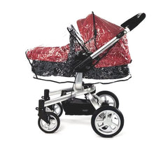 Rain Cover Fits iSafe Pram System Pushchair Stroller Raincover - Baby Travel UK  - 3