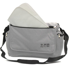Baby Travel Zeta Changing Bag - Grey - Baby Travel UK
