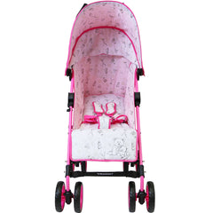 ZeTa Vooom TWILIGHT - Raspberry (Baby Stroller Including Rain Cover)
