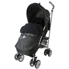 Baby Stroller Zeta Vooom Black Complete Moon & Stars H&S Black Complete - Baby Travel UK  - 2