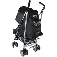Baby Stroller Zeta Vooom Black Complete Moon & Stars H&S Black Complete - Baby Travel UK  - 5