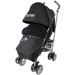 Baby Stroller Zeta Vooom Black Complete Moon & Stars H&S Black Complete - Baby Travel UK  - 1