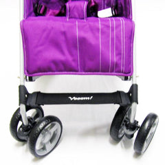 ZeTA Vooom Stroller - Plum Luxury Baby Pushchair - Baby Travel UK  - 2