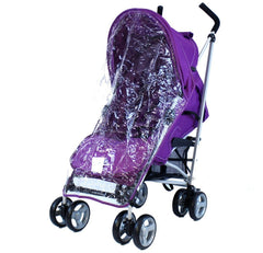 Baby Stroller Zeta Vooom Hearts And Stars Complete Plum - Baby Travel UK  - 3