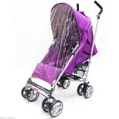 Zeta Vooom Plum (complete Plain) Padded Footmuff Liner Stroller Pushchair - Baby Travel UK  - 5