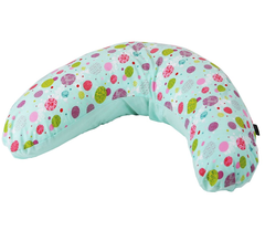 Supportive Maternity Pregnancy Breast Feeding Pillow + Pillow Case (Aquarius)