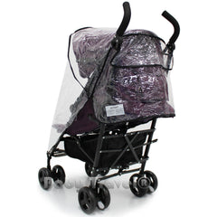 Rain Cover To Fit Obaby Aura Deluxe Stroller - Baby Travel UK  - 3