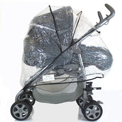 New Sale Rain Cover For Peg Perego Pliko Pram - Baby Travel UK  - 1