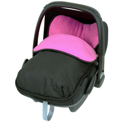 Universal Car Seat Footmuff Cosy Toes Soft Maxi Cosi Pebble Cabrio - Baby Travel UK  - 23