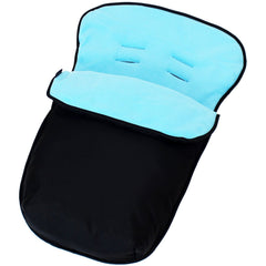 Universal Car Seat Footmuff/cosy Toes Graco Newborn Carseat Baby Boy Girl New - Baby Travel UK  - 20
