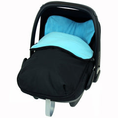 Universal Car Seat Footmuff/cosy Toes Graco Newborn Carseat Baby Boy Girl New - Baby Travel UK  - 19