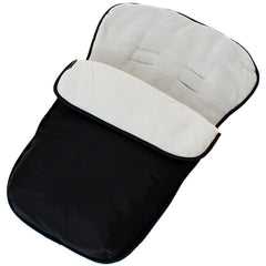 Footmuff For Mamas And Papas Cybex Aton Newborn Car Seat Cosy Toes Liner - Baby Travel UK  - 37