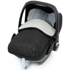 Universal Car Seat Footmuff/cosy Toes Silver Cross Car Seat Newborn Boy Girl New - Baby Travel UK  - 35