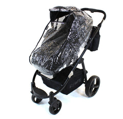 Universal Raincover To Fit Bugaboo Cameleon And Frog Pushchair - Baby Travel UK  - 3