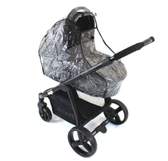 Universal Raincover To Fit Bugaboo Cameleon And Frog Pushchair - Baby Travel UK  - 4