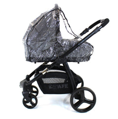 Universal Raincover To Fit Bugaboo Cameleon And Frog Pushchair - Baby Travel UK  - 5