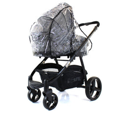Universal Raincover To Fit Bugaboo Cameleon And Frog Pushchair - Baby Travel UK  - 6