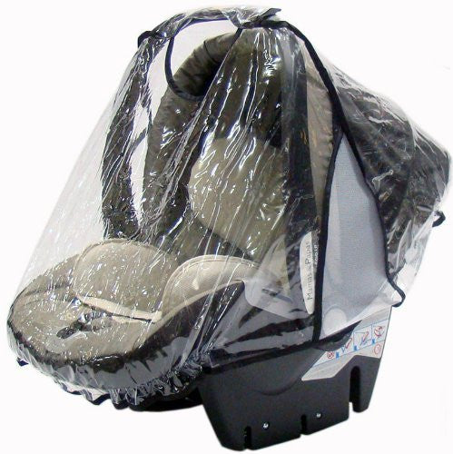 Universal Car Seat Raincover Fit All Carseat Rain Cover - Baby Travel UK  - 1