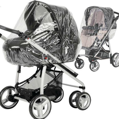 iVogue Carrycot /& Pushchair Seat Unit New RAINCOVER PVC Zipped to fit iSafe